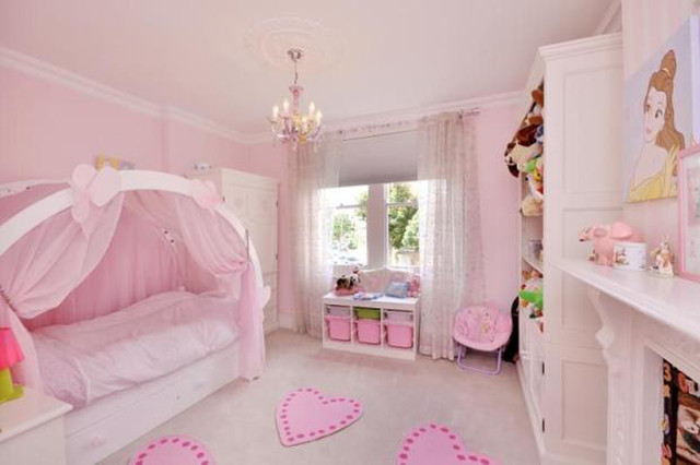 girls bedroom traditional bedroom