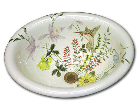 Marzi's Hand Painted Sinks -
