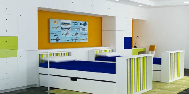 parker youth boy room modern-kids