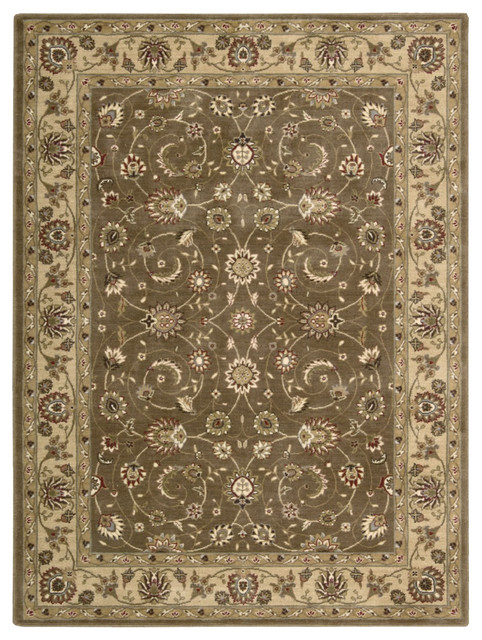 "Somerset ST62 7'9"" x 10'10"" Taupe Rug contemporary-rugs"