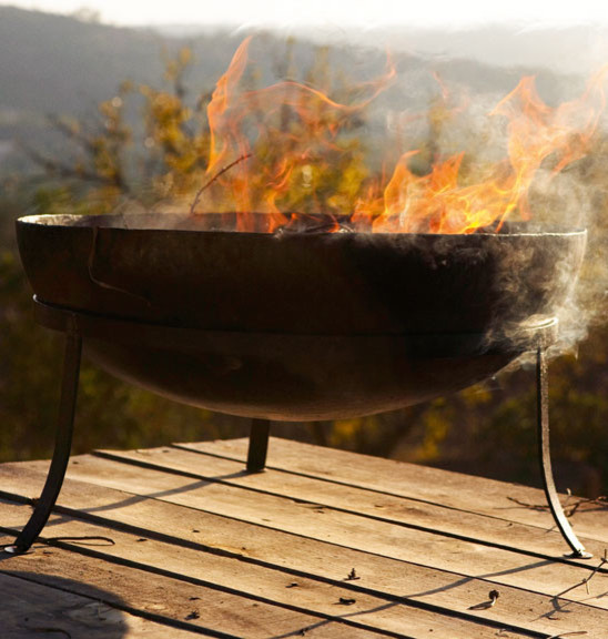 Fire Bowl traditional-firepits