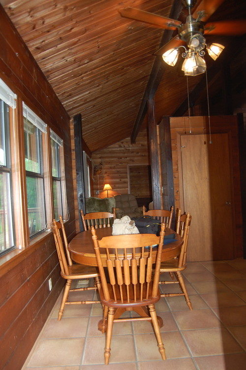 Need Flooring Ideas For Lake Cabin With Cedar Walls And