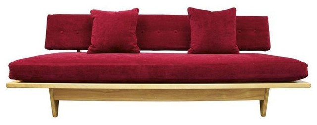 Vintage 1950's Knoll Richard Stein Daybed modern-indoor-chaise-lounge-chairs