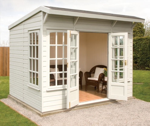 The Garden Houses Range - Farringdon contemporary sheds