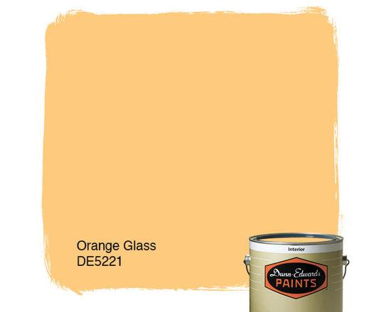 Dunn-Edwards Paints Orange Glass DE5221 -
