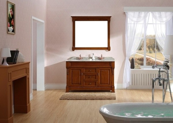 Taurus 1400mm Traditional Solid Timber Vanity traditional-bathroom-vanities-and-sink-consoles
