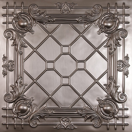 Bentley Faux Tin Ceiling Tiles eclectic-ceiling-tile