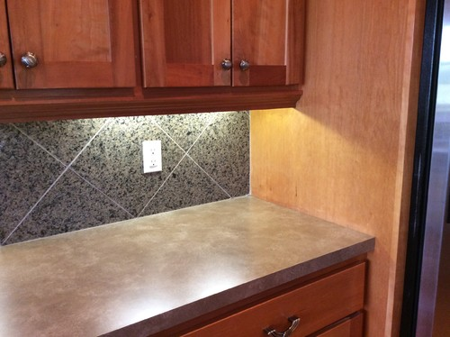 2 Different Types Of Countertops In Kitchen
