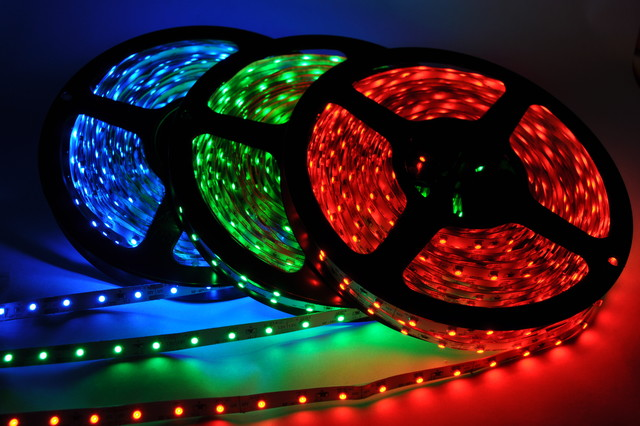Inspired LED Lighting- Red, Green, and Blue Flexible Strips - Undercabinet Lighting - phoenix ...