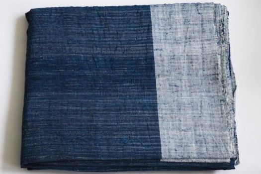 Dosa Bedcover, Melange Indigo contemporary-quilts-and-quilt-sets