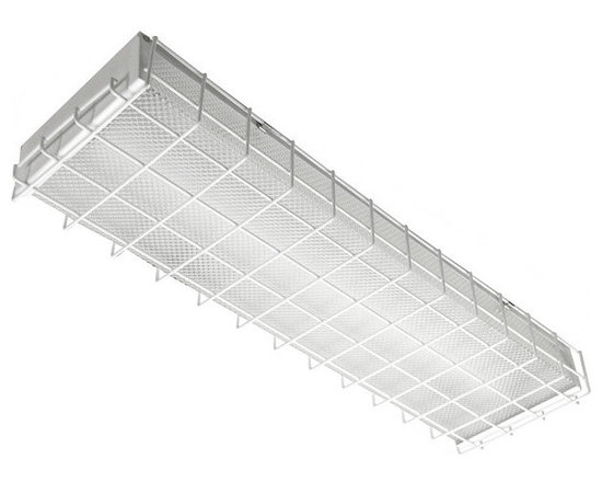 MaxLite - MaxLite LSUWG2407 Wire Guard for 2 Foot LED Utility Wrap Fixture - This 2-foot wire guard is for the MaxLite LED Utility Wrap Fixture series, and serves to protect the luminaire from breakage.