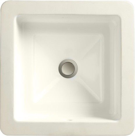 Undermount Square Bathroom Sink : Marquee Square Large Undermount Bathroom Sink modern-bathroom-sinks