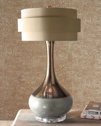 John-Richard Collection Orbit-Shade Lamp traditional lamp shades
