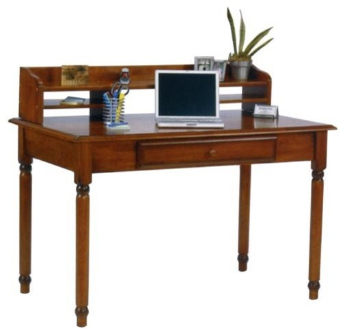 Knob Hill Laptop Writing Desk With Optional Hutch