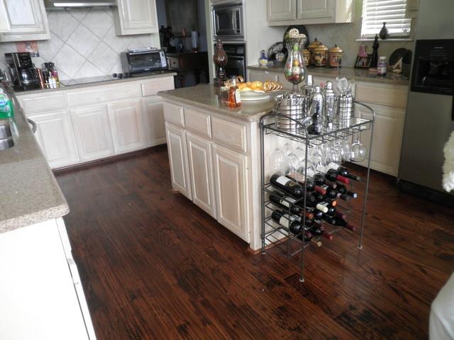 Red Oak 2 Contemporary Hardwood Flooring Dallas