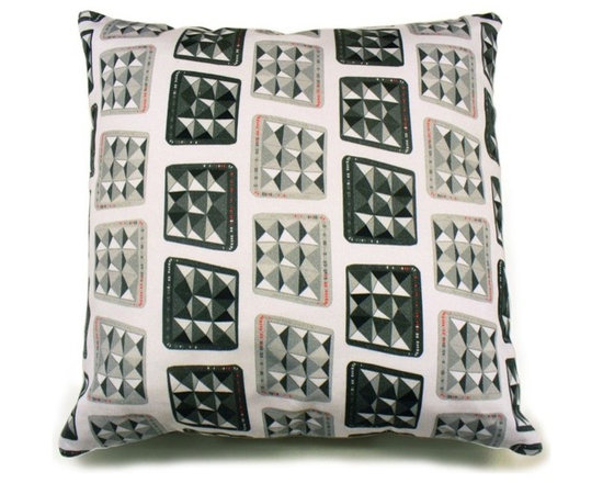 Charcoal Pha Pha Cushion -