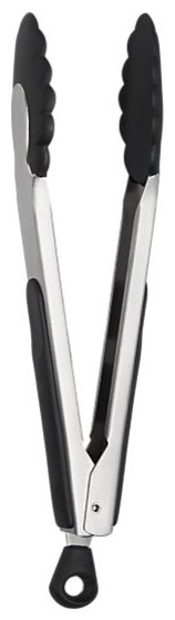 OXO® Stainless and Nylon Tongs modern-kitchen-tongs