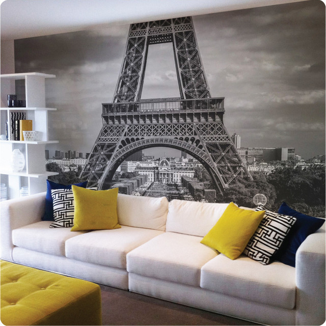paris removable wall mural contemporary wallpaper vinyl wall decals stripes removable wallpaper amp murals