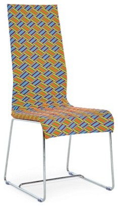 Kente Armless Dining Chair modern-dining-chairs