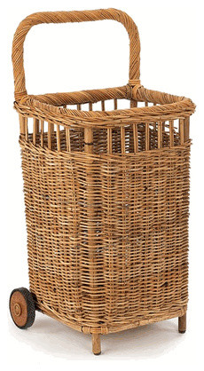 Sm French Country Market Cart traditional baskets