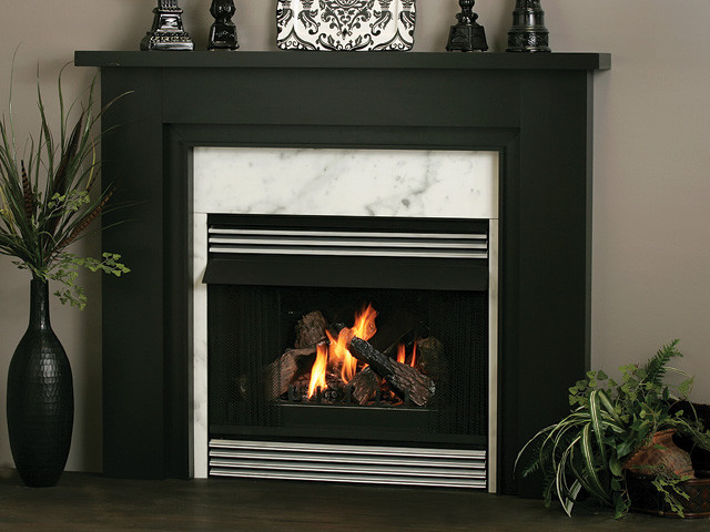 Essex Wood Fireplace Mantel Traditional Indoor