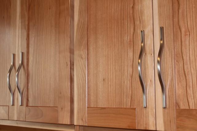 Custom Cherry Wood Kitchen Cabinet Doors