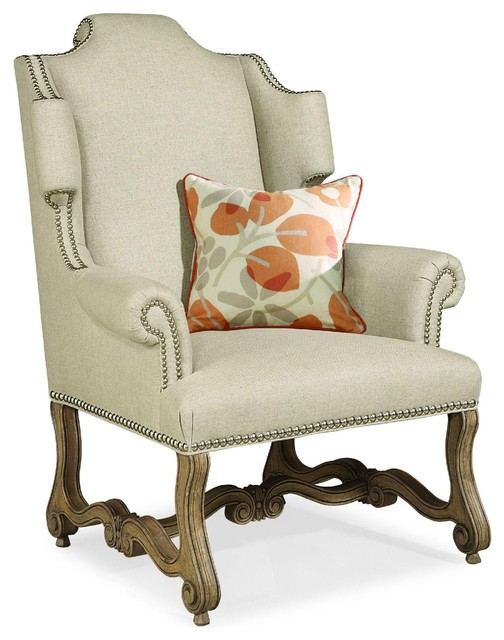 Cara and Cole Outside In Wing Chair traditional-armchairs-and-accent-chairs