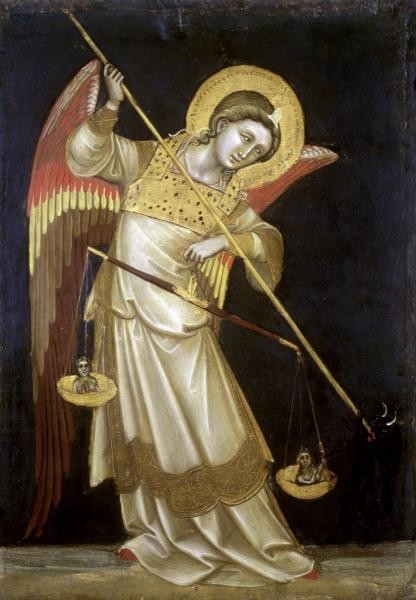 Archangel Michael II 44 x 30.556 Art Print On Canvas prints-and-posters