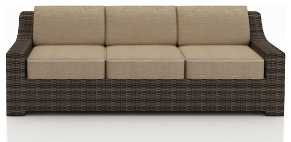 3 Pc. Bayside Outdoor Sofa Set modern-outdoor-lounge-sets