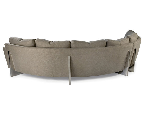 Cool Clip Sectional (back view) from Thayer Coggin -