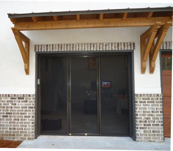 Lifestyle Garage Door Screen - Traditional - Garage Doors ...