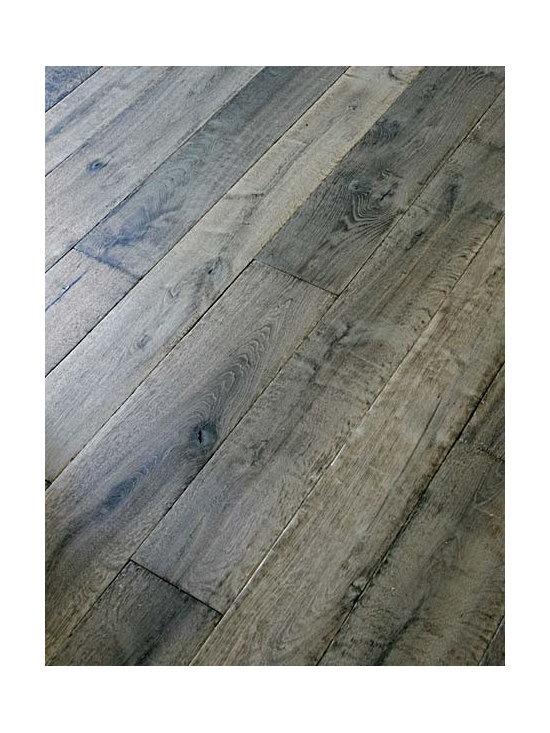 Manoir Gray Custom Aged French Oak Floors -