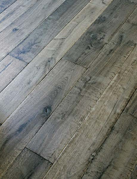 Manoir Gray Custom Aged French Oak Floors traditional-wood-flooring
