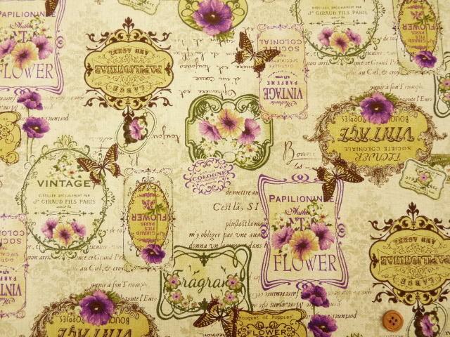 Vintage Elegance contemporary-fabric