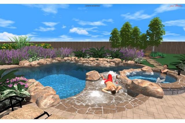 Reinch Residence tropical-rendering