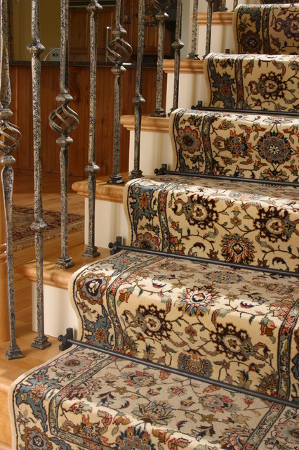 Zoroufy Soverign Stair Rods rugs