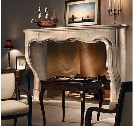 The Tourvel Mantel  fireplaces