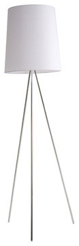 Abra Floor Lamp | EQ3 Modern Furniture contemporary-floor-lamps