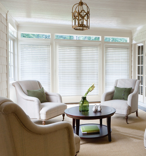 Levolor 2 1 2 inch visions faux wood blinds contemporary for 2 inch faux wood window blinds