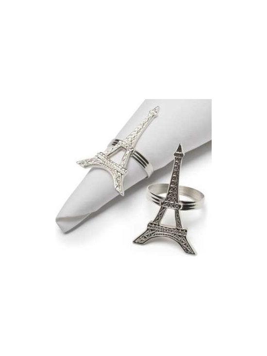 Eiffel Tower Napkin Rings -