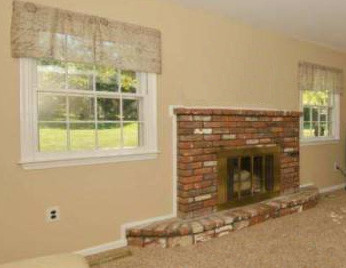 should i paint my brick fireplace