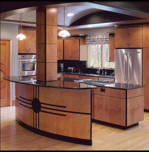 Wooded Knoll Kitchen.jpg contemporary-kitchen