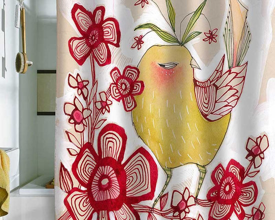 DENY Designs Cori Dantini Sweetie Pie Shower Curtain