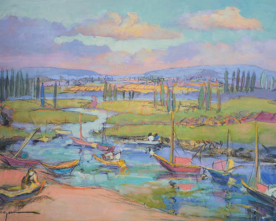 Artwork for Beach House, French Boats -