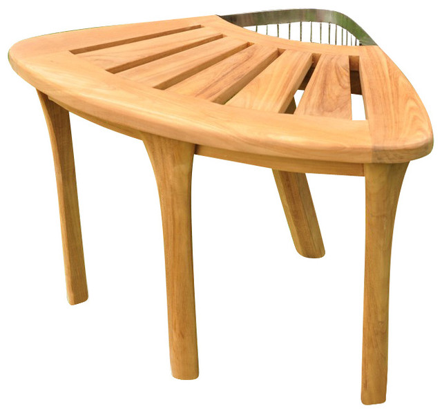 Stool Teak Corner Stool Contemporary Shower Benches And Seats