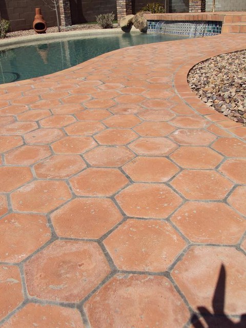 Outdoor Tile and Stone Ideas mediterranean