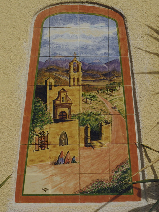 Mexican Mural -