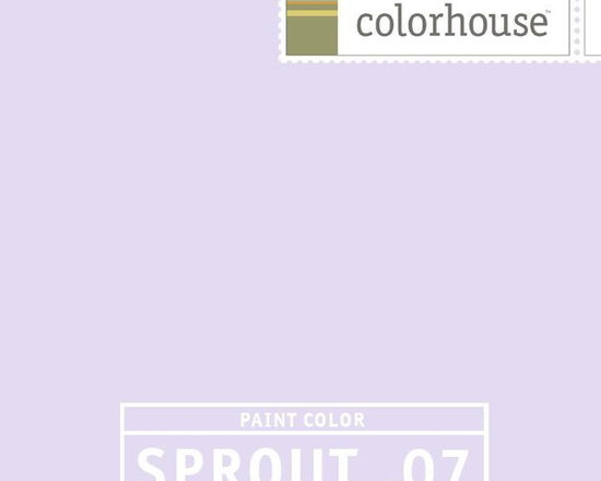 Colorhouse SPROUT .07 - Colorhouse SPROUT .07: As yummy as the scent of spring lilacs. Peaceful and pleasant for dreaming.