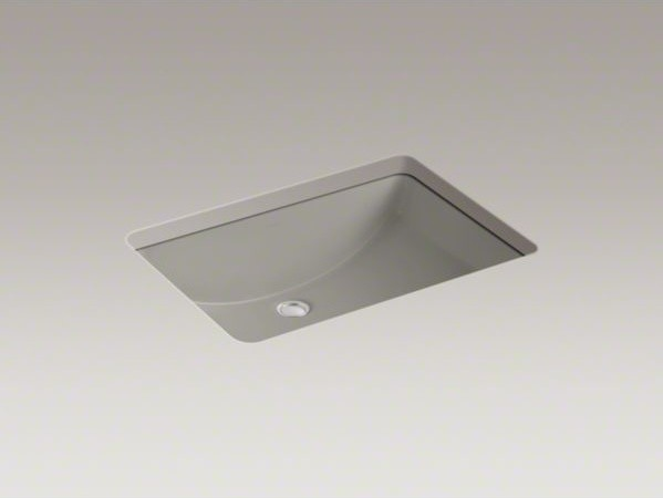 "KOHLER Ladena(R) 23-1/4"" x 16-1/4"" x 8-1/8"" under-mount bathroom sink contemporary-bathroom-sinks"