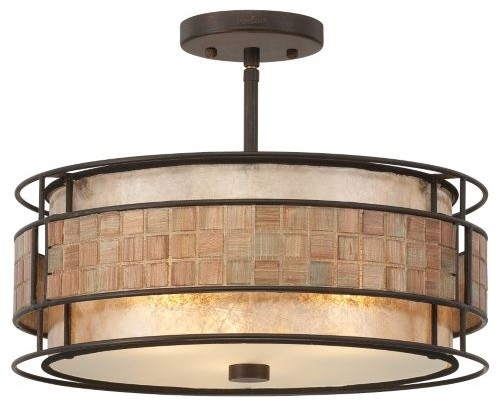 Mica Semi-Flushmount by Quoizel contemporary-ceiling-lighting